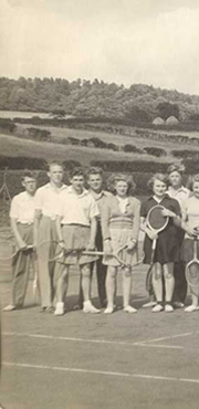 Tennis has been played at Rothbury Lawn Tennis Club since 1889